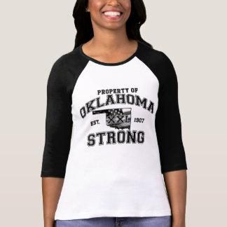 Propriedade da camisa forte de Oklahoma