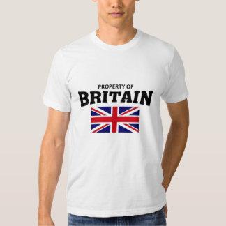 Propriedade de Grâ Bretanha Tshirts