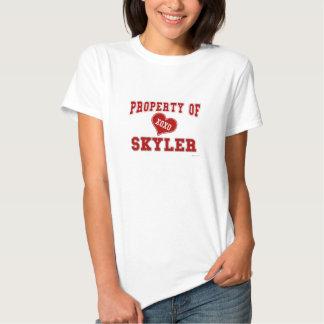 Propriedade de Skyler T-shirt