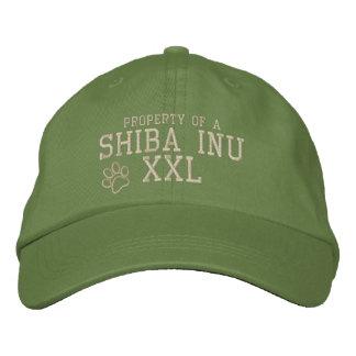 Propriedade de um chapéu bordado Inu de Shiba Boné Bordado