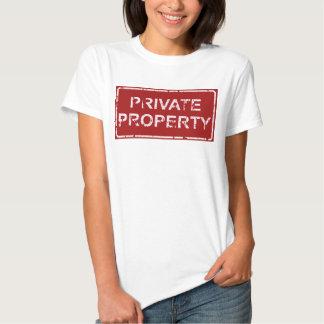 Propriedade privada camiseta