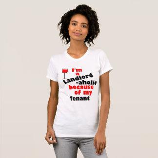Proprietário - camisa aholic para proprietário