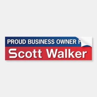 Proprietário empresarial para o caminhante de Scot Adesivo Para Carro