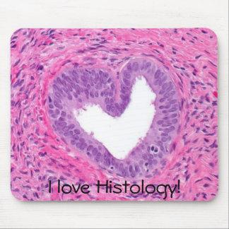 próstata - coração, eu amo a histologia! mouse pad