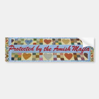Proteção da máfia de Amish, autocolante no vidro Adesivo Para Carro