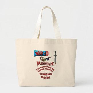 Protecção solar do vampiro bolsas para compras