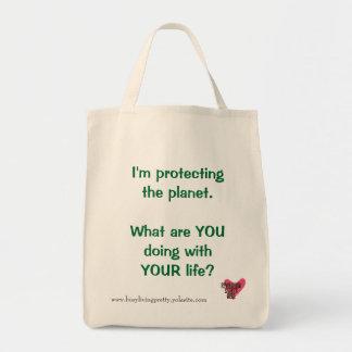Protegendo o bolsa do mantimento do planeta