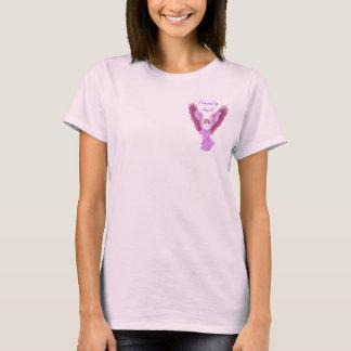Protegido por anjos! Camisa de T