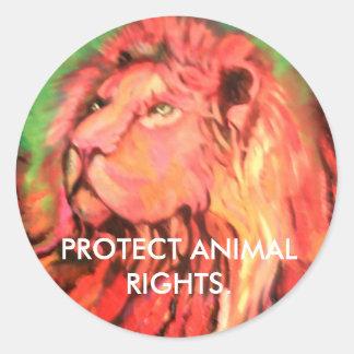 Proteja a etiqueta dos direitos dos animais
