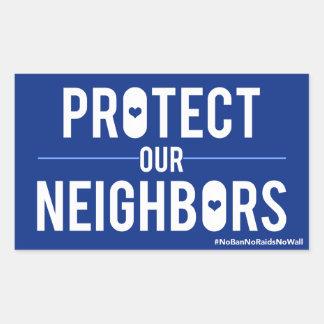 Proteja nossa etiqueta dos vizinhos