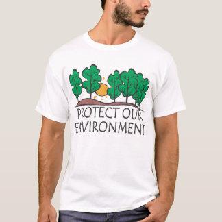 Proteja nosso ambiente camiseta