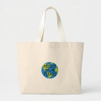 Proteja nosso planeta bolsa
