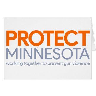 Proteja o cartão de Minnesota
