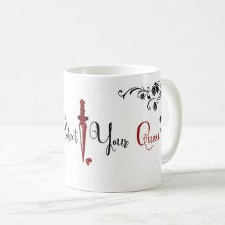 Proteja sempre sua caneca de café da rainha: