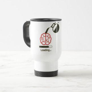 proteja seu cérebro com nossa caneca de café nova