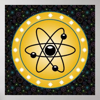 Protetor atômico posteres