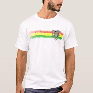 Protetor da reggae de Rasta de David Camiseta