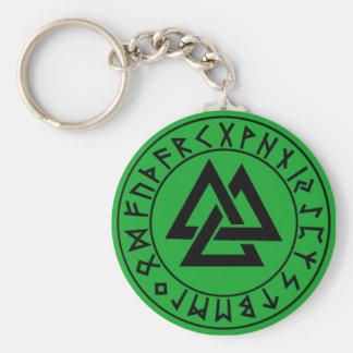 protetor do Rune do Tri Triângulo do chaveiro em G