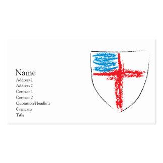 Protetor episcopal modelo cartão de visita