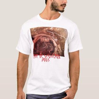 Prova da camisa dos Pugs do vampiro