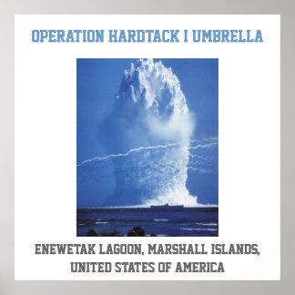 Prova nuclear dos ESTADOS UNIDOS de Marshall Islan Poster