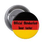 Provador oficial da cerveja de Oktoberfest Botons