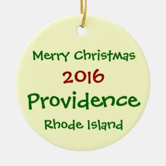 Providência 2016 Rhode - ENFEITES DE NATAL da ilha