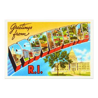 Providência Rhode - lembrança das viagens vintage Impressão De Foto