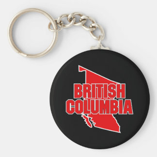 Província do Columbia Britânica Chaveiro