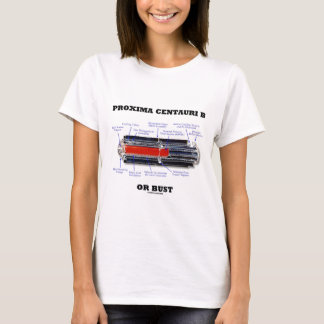Proxima Centauri b ou humor da astronomia do busto Camiseta