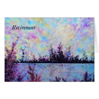 Pruple um - Cartão da aposentadoria por Jane