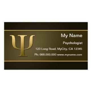 Psicologia Modelo De Cartões De Visita