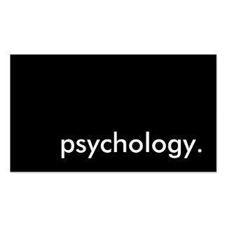 psicologia cartões de visitas
