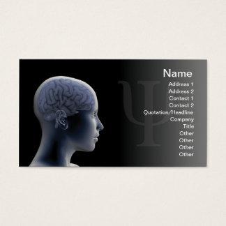 Psicologia Cartão De Visitas