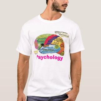 Psicologia do cérebro camiseta
