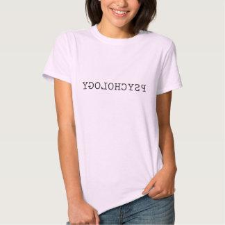 Psicologia reversa tshirts