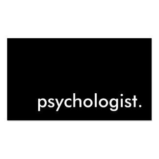 psicólogo cartao de visita