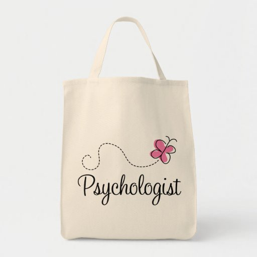 Psicólogo cor-de-rosa bonito da borboleta bolsas