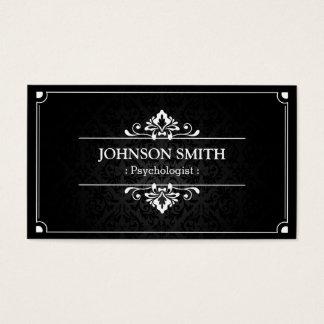 Psicólogo - sombra do damasco cartão de visitas