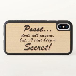Pssst… eu não posso manter um SECRETO (o preto)