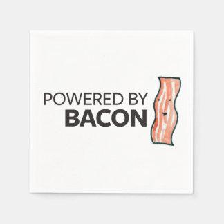 Psto pelo bacon guardanapo de papel
