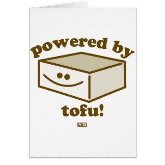 Psto pelo cartão do Tofu