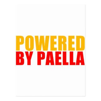 Psto pelo Paella Cartão Postal