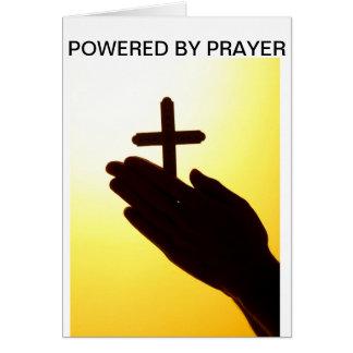 Psto por cartões da oração