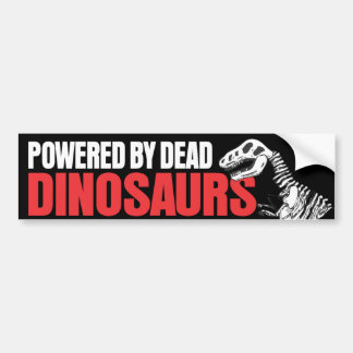 Psto por dinossauros inoperantes adesivo para carro