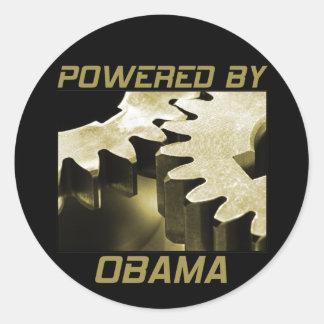 Psto por Obama Adesivo Em Formato Redondo