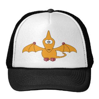 Pterodactyl dos desenhos animados (amarelo) boné