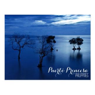 Puerto Princesa, Palawan, cartão de Filipinas Cartão Postal