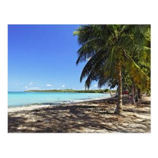 Puerto Rico, Fajardo, ilha de Culebra, sete mares Cartão Postal
