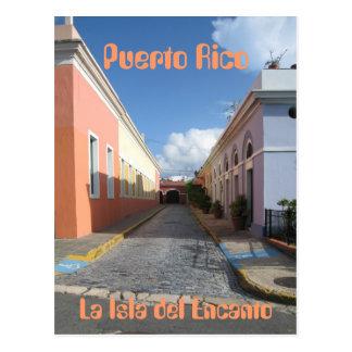 Puerto Rico La Isla del Encanto Cartão